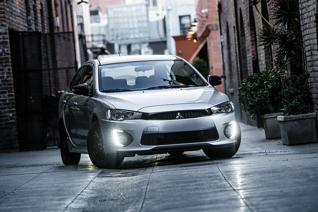 The newest version of the Mitsubishi Lancer might be more SUV than sedan